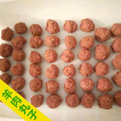 新疆哈密羊肉丸 半年 新疆纯羊肉丸子