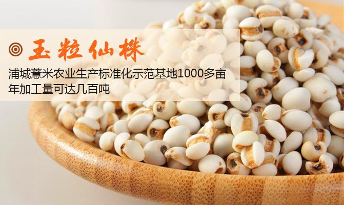 浦城县全禄薏米商行