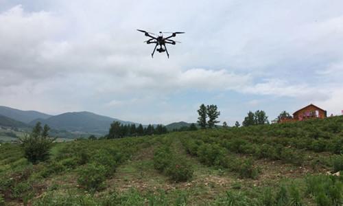 这是一张吉林省充分利用无人机做好水土保持监测工作的配图