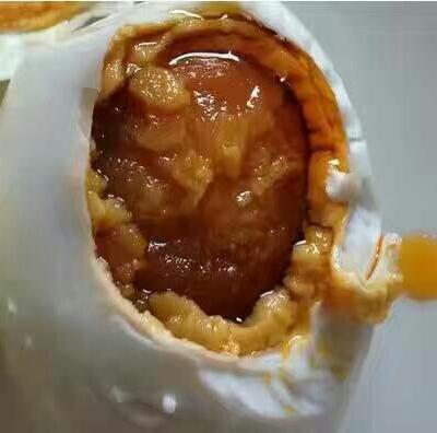 廣西壯族自治區玉林市北流市海鴨蛋 初生蛋 20枚咸蛋冒油開袋即食