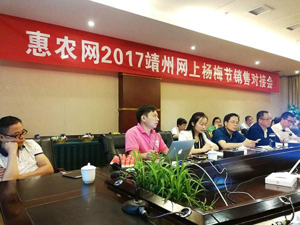 2017靖州网上杨梅节销售对接会圆满成功