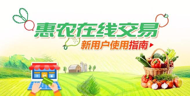 惠农网在线交易常见问题详细解答