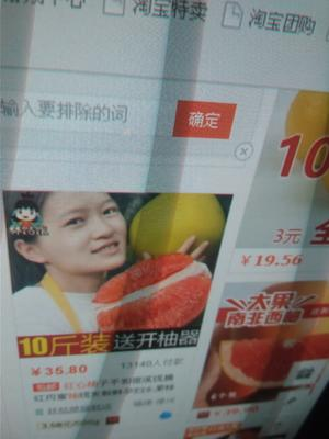 福建龙岩新罗区沙田柚 1斤以上