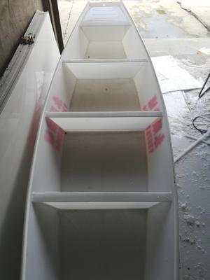 湖南省常德市鼎城区塑料手工渔船