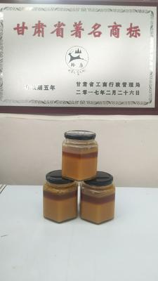 甘肃省甘南藏族自治州合作市野生蜂蜜 玻璃瓶装 100% 2年以上