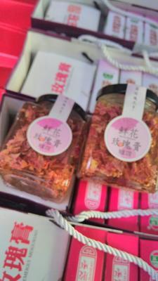 这是一张关于玫瑰酱的产品图片