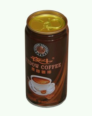 重庆万州区咖啡饮料 易拉罐 12-18个月
