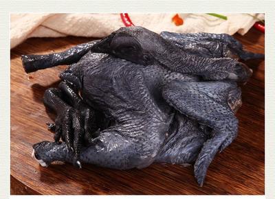 陕西省安康市镇坪县黑羽乌鸡 3-4斤