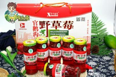 甘肃省陇南市成县草莓罐头 6-12个月