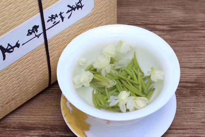 这是一张关于茉莉花茶 盒装 一级的产品图片