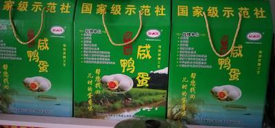 河南省驻马店市驿城区麻鸭蛋 食用 礼盒装