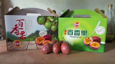 这是一张关于紫香一号百香果 70 - 80克的产品图片