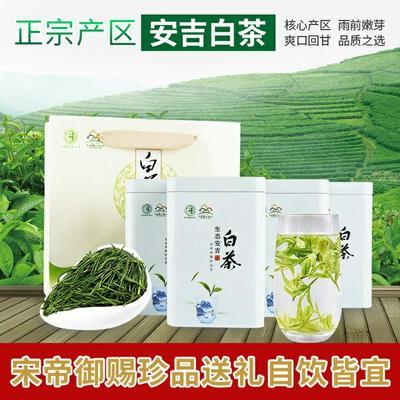 浙江省湖州市安吉县安吉白茶 罐装 特级