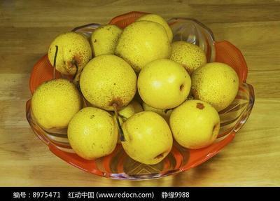 这是一张关于白梨 100-150g 55mm以上的产品图片