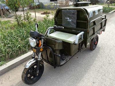 这是一张关于园林绿化车的产品图片