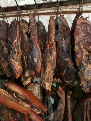 陕西省安康市平利县农家散养土猪腊肉 生肉