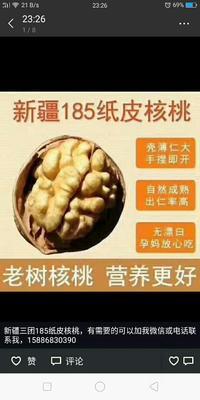 这是一张关于新疆185核桃的产品图片