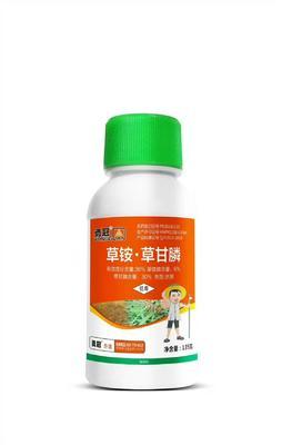 这是一张关于草铵草甘磷 水剂 瓶装 的产品图片