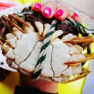 江苏省南京市高淳区固城湖河蟹 3.0两 公蟹