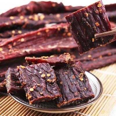 甘肃省天水市麦积区藏族牦牛肉 熟肉