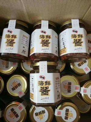 这是一张关于海鲜酱的产品图片