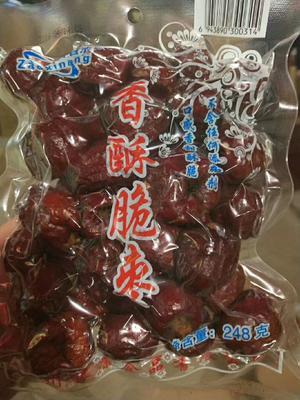 这是一张关于香脆枣 合格品的产品图片