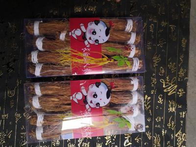 这是一张关于红参的产品图片