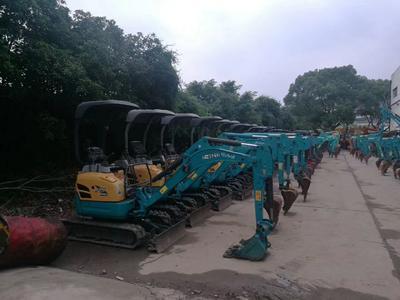 上海徐汇区挖坑机