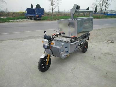 这是一张关于养猪电动自动喂料车的产品图片
