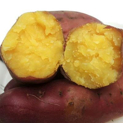 这是一张关于黄心红薯 紫皮 混装通货的产品图片