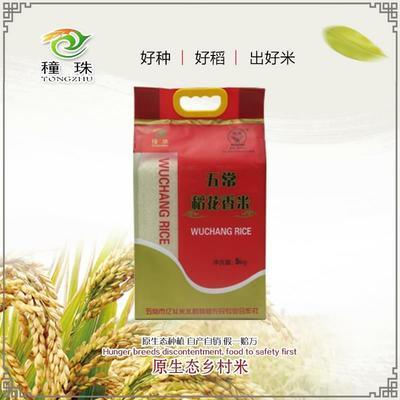 吉林省长春市榆树市稻花香二号大米 非有机大米 晚稻 一等品