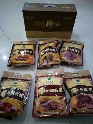 吉林省长春市双阳区酱香鹿肉熟食1箱6袋