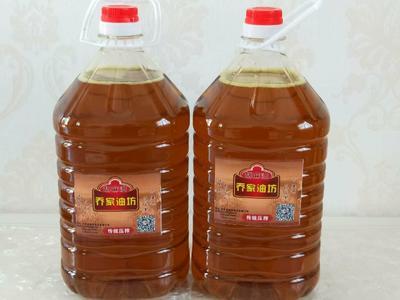 甘肃省定西市陇西县热榨亚麻籽油