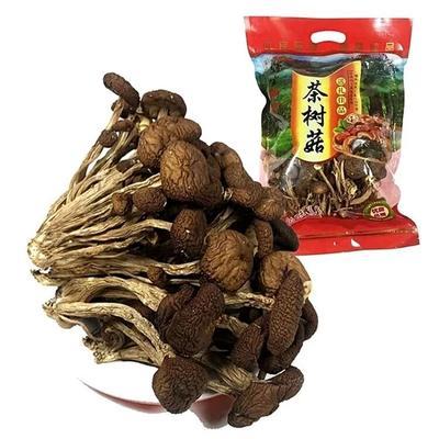 福建省南平市建阳市棕褐色帽茶树菇 8~10cm 未开伞 干茶树菇