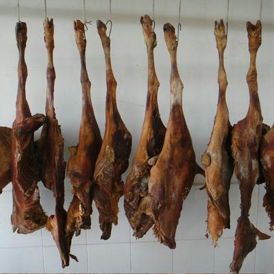 湖南省常德市石门县腊羊肉 散装