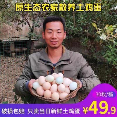 湖北省襄阳市枣阳市土鸡蛋 食用 礼盒装