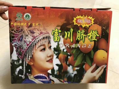 这是一张关于富川脐橙 65 - 70mm 4-8两的产品图片