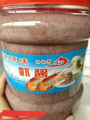 这是一张关于鲜虾酱的产品图片
