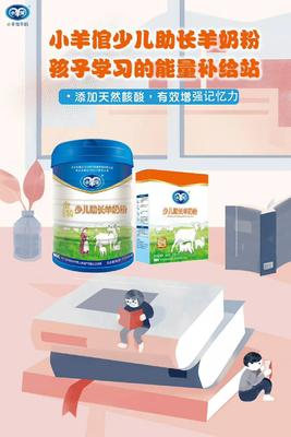 福建省龙岩市新罗区羊奶粉 12-18个月