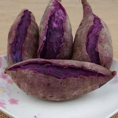 山东省临沂市蒙阴县紫罗兰紫薯 混装通货