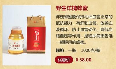湖南省常德市津市市洋槐蜂蜜 玻璃瓶装 100% 2年