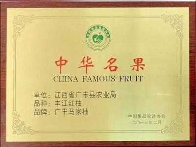 江西省上饶市广丰县红心柚 3斤以上