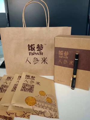 吉林省白山市抚松县人参米 一季稻 籼米 一等品
