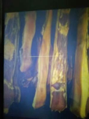 广西壮族自治区百色市隆林各族自治县农家柴熏腊肉 箱装