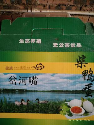 河南省漯河市舞阳县土鸭蛋 食用 箱装