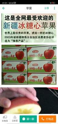 这是一张关于冰糖心苹果 80mm以上 全红 纸+膜袋的产品图片