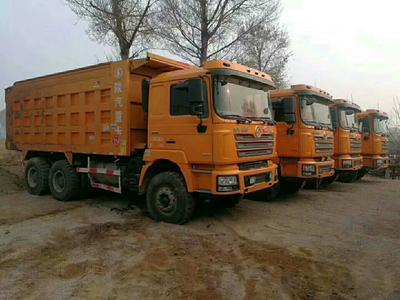 山西省忻州市忻府区自卸车  陕汽德龙后八轮
