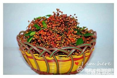 红花椒 干花椒 二级