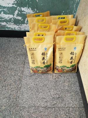 这是一张关于稻花香大米 一等品 晚稻 粳米 的产品图片