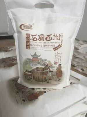 河北省沧州市东光县石磨面粉 中筋面粉
